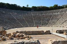 93. Sanctuary of Asklepios at Epidaurus, Greece