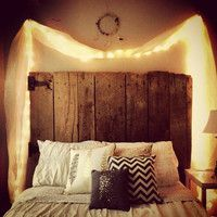 Reclaimed Wood Headboard - Custom & Affordable