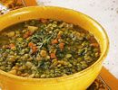 Vegan Soup Recipe - Split Pea Soup - The Daily Green
