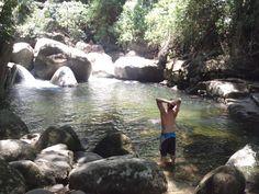 Subindo pra Cachoeira da Pedra Branca - Paraty / Cunha