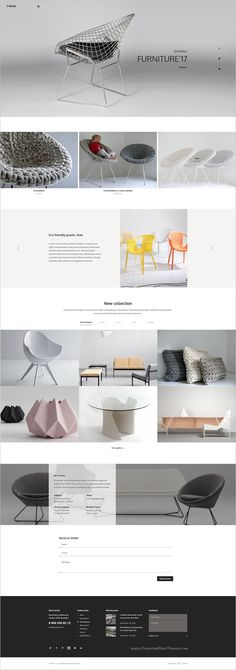 Lenox is an unique and modern design #PSD #theme for multipurpose #furniture #shop websites with 25 unique homepage layouts and 140+ organized PSD pages download now➩ https://themeforest.net/item/lenox-creative-multiconcept-psd-template/18581532?ref=Datasata