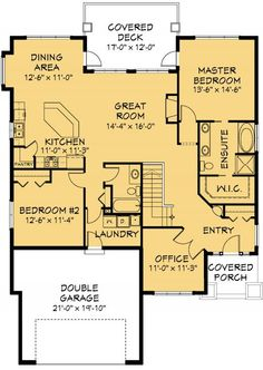 House Plan Information for E1030-10