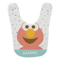Elmo Baby Baby Bib