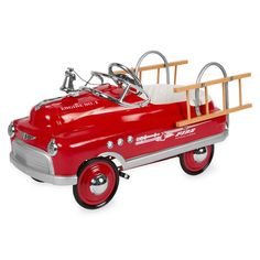 Comet Fire Truck Pedal Cars