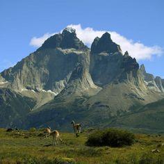 Torres del Paine, sur de Chile