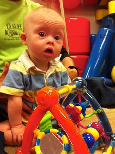 down syndrome working hard at physical therapy Repinned by  SOS Inc. Resources  http://pinterest.com/sostherapy.