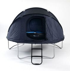 Trampoline tent... for the kids on day
