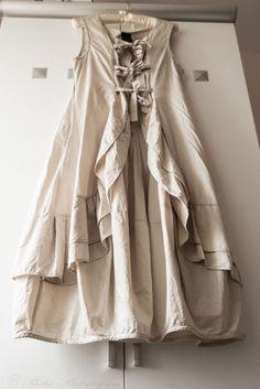 Rundholz Black Label ribbon khaki dress size M #Rundholz