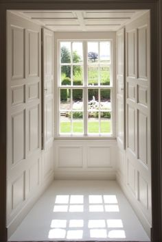 Georgian sash window, Northumberland UK - perfect windows, looking in tip top condition. Just what we like to see!