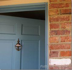 How to paint your front door, Petticoat Junktion