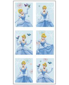 Cinderella Dreamland Mylar Balloon Centerpiece w// Cutouts 1ct