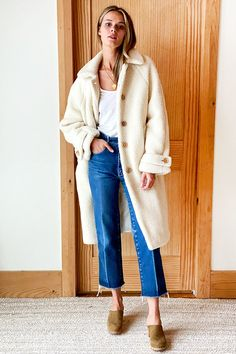 Fall Winter Outfits, Autumn Winter Fashion, Preppy Fall, Emerson Fry, Duster Coat, Cute Outfits, Matisse, Sleeves, Fall Pics