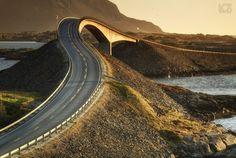 Atlantic Road by bgspix
