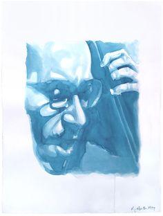 Eddie Gomez 66 Inchiostro su carta 56x76 cm