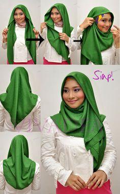 DhiaVivadea.Follow & #vivadea #dhiavivadea : Hijab Tutorial cara memakai tudung bawal vivadea
