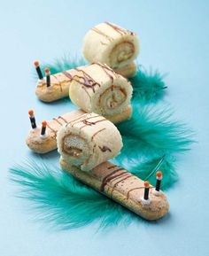 These cute snails will move off your party table much faster than real ones.