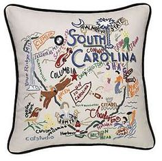 South Carolina State Pillow