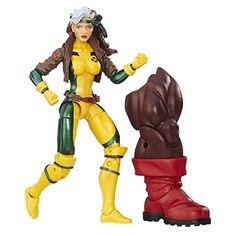 Marvel 6 Inch Legends Series Rogue - With just one touch, Rogue can absorb anyone's superpowers – making her capabilities in any matchup nearly limitless. With the Marvel Legends Series, both kid and adult Marvel fans can start a legendary collection of comic- and movie-based Marvel characters. This 6-inch Marvelȁ...