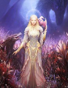 Artist: Unknown - Title: Unknown - Card: Bianca, Dragonborn (Dragonblood)