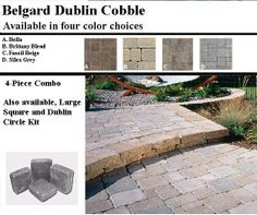 Belgard Dublin Cobbler Paver Pattern | Belgard Paver Collection