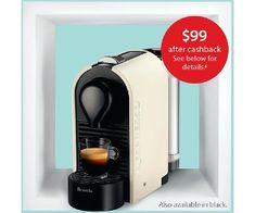 Nespresso U Solo Capsule Coffee Machine