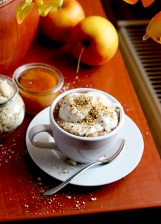 Rozgrzewająca kawa Coffee Time, Pudding, Tableware, Recipes, Food, Dinnerware, Custard Pudding, Tablewares, Recipies