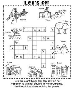 Welcome to Dover Publications Vacation Fun Activity Book
