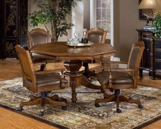 Hillsdale Nassau Game Table. The Nassau Game Set is distinguised and regal. The…