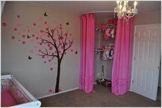 26 Ideas For Corner Closet Curtain Reading Nooks Corner Closet, Kid Closet, Closet Ideas, Room Closet, Closet Space, My New Room, My Room, Girls Bedroom, Bedroom Decor