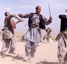 "The ‎traditional Dance ""Kabuli Attan"" of the Paschtuns in Afghanistan."