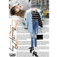 Beautiful Day by sabinakopic on Polyvore featuring moda, Gerry Weber, London Rebel, Pull&Bear, Guide London, women's clothing, women's fashion, women, female and woman