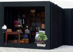 Armario: libro túnel / tunnel book by  Olaya Balcells, via Flickr