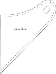 patron-bavoir-bandana.jpg 564×749 pixels