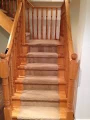 thing spindles go into stairs - Google Search
