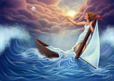 Lost at Sea by daniellesylvan.deviantart.com on @deviantART