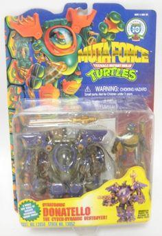 1996 TMNT Muta Force Dynatronic Donatello