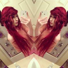 'red' hair
