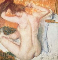 Image result for edgar degas paintings nude