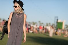 The Best Street Style From Coachella - http://www.AmericasMall.com/