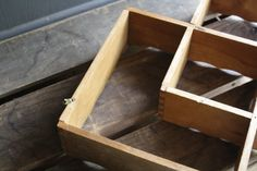 vintage wooden shelves por littlebyrdvintage en Etsy