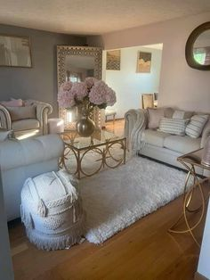 Cute Living Room, Glam Living Room, Decor Home Living Room, Living Room Sets, Home Bedroom, Living Room Designs, Bedroom Decor, Girl Apartment Decor, Cute Room Ideas