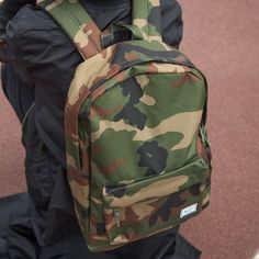Camo backpack by Herschel Supply Co. Well Travaled