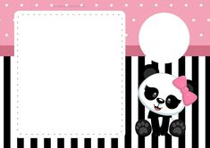 Diva Birthday Parties, Panda Birthday Party, Panda Party, Bear Party, Panda Themed Party, Panda Baby Showers, Panda Bebe, Pink Panda, Baby Shawer