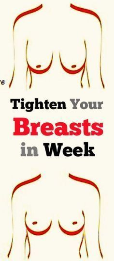 Tighten Your Breasts in Week with This Home Remedy