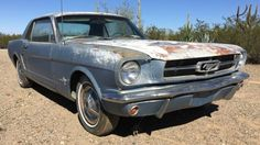 Sunburnt And Stock: 1965 Ford Mustang - http://barnfinds.com/sunburnt-and-stock-1965-ford-mustang/