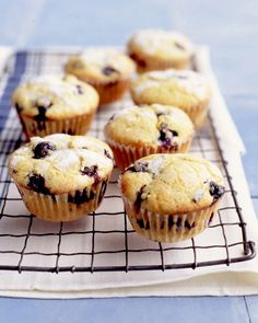 Double Blueberry Muffins Recipe