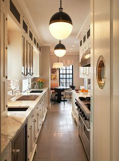 Gorgeous Streamlined kitchen. Love everything about it.