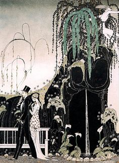 Taking a walk by Kay Nielsen