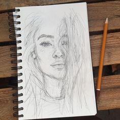 Secrets Of Drawing Realistic Pencil Portraits - Discover The Secrets Of Drawing Realistic Pencil Portraits Art Drawings Sketches, Cool Drawings, Pencil Drawings, Horse Drawings, Portrait Au Crayon, Pencil Portrait, Portrait Art, Drawing Portraits, Self Portrait Drawing