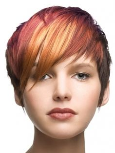 i love this! too bad my hair didnt look that great when it was these colors.